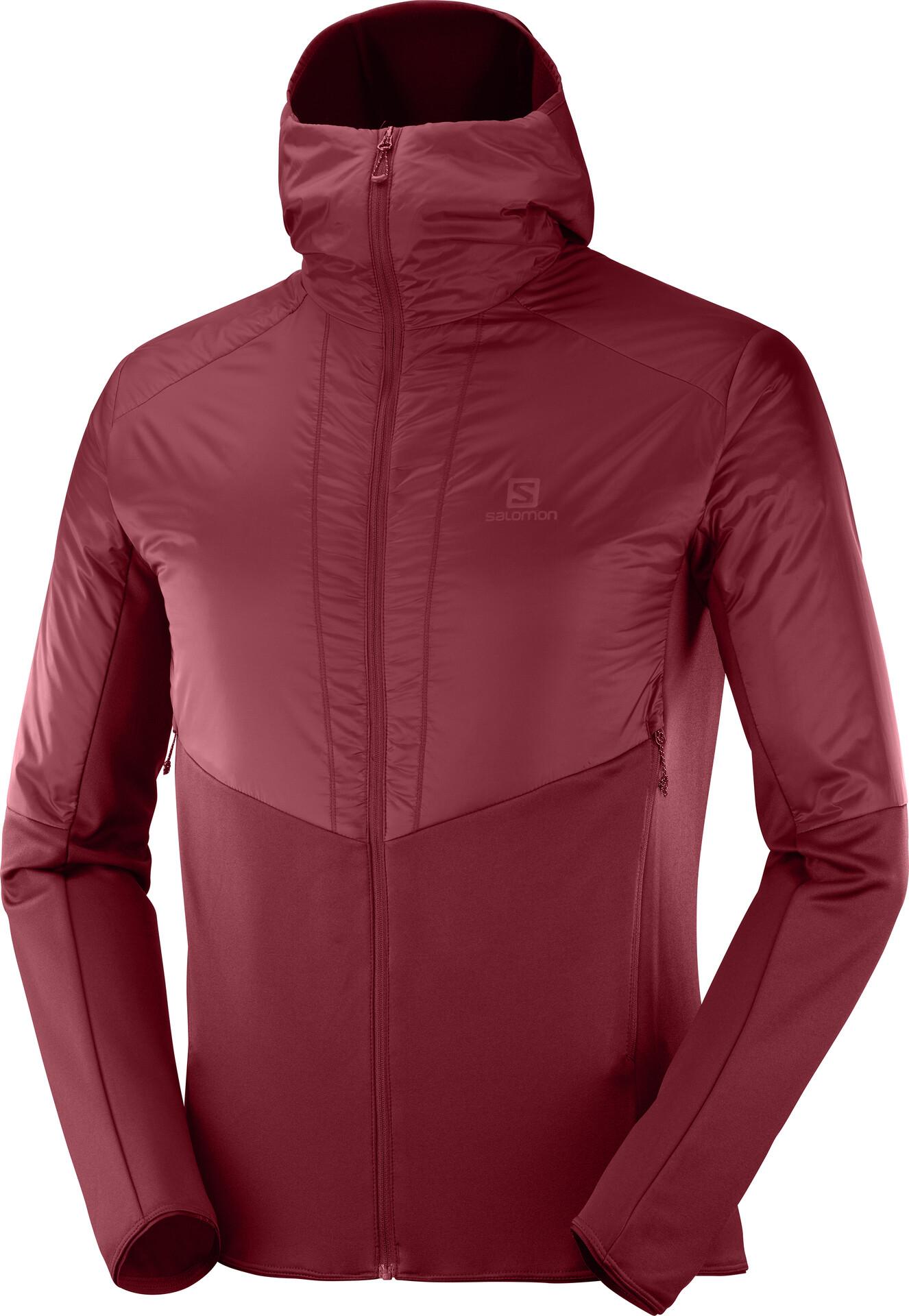 Salomon Outline Warm Jacket Men biking re
